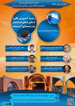کنفرانس ملی دستاوردهای گذشته و دورنمای آینده رشته آموزش عالی